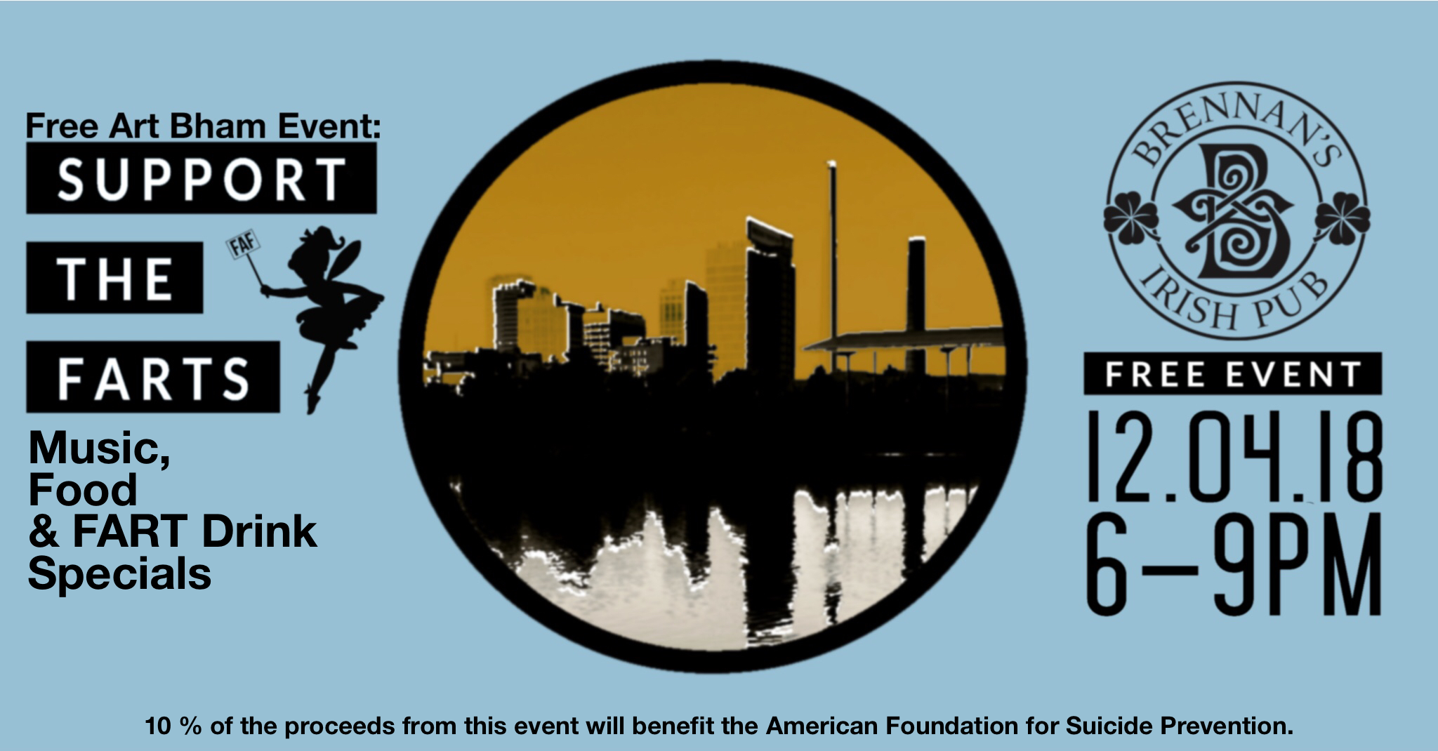 Support the FARTS A FREE @RT BHAM EVENT - INNOVATION DEPOT - 11.13.18 6-8 PM